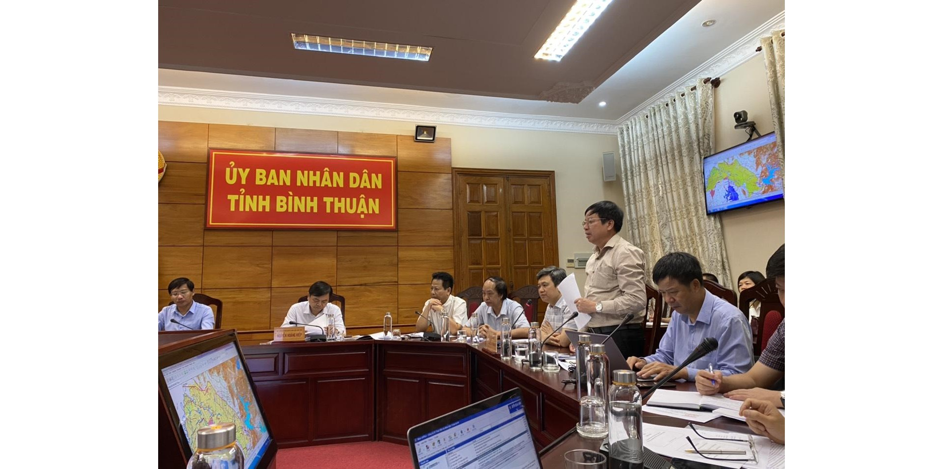 IWRP's leaders take part in a mission led by the Minister and Vice Minister of of Agriculture and Rural Development to Ninh Thuan and Binh Thuan Provinces (May 23-25, 2020)