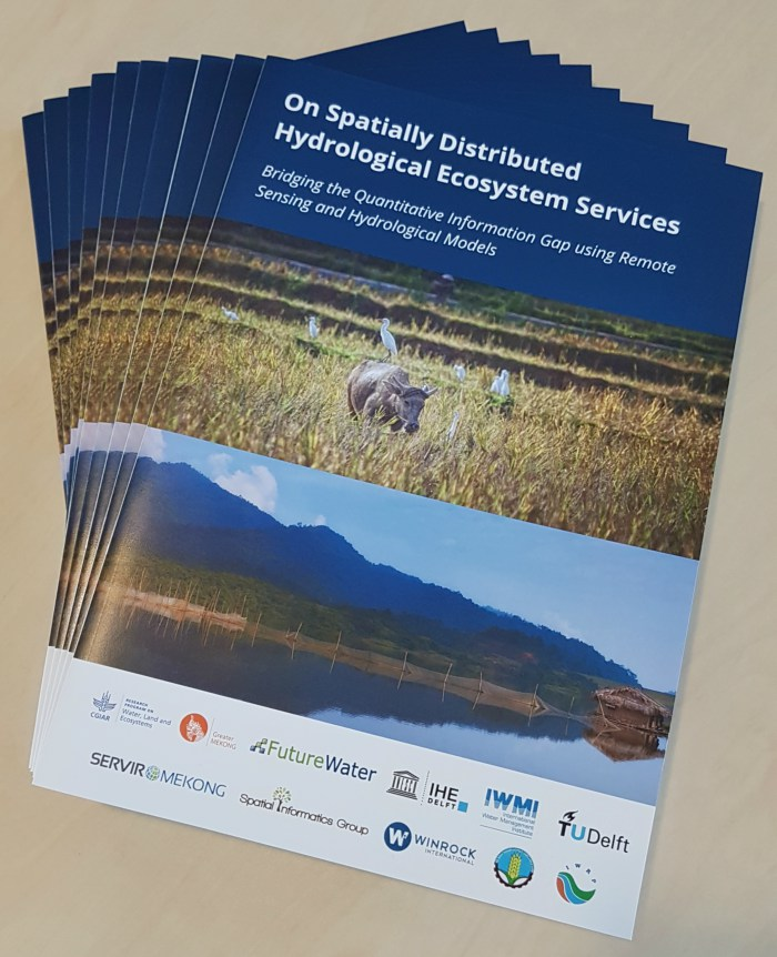 White paper published: On Spatially Distributed Hydrological Ecosystem Services Bridging the Quantitative Information Gap using Remote Sensing and Hydrological Models