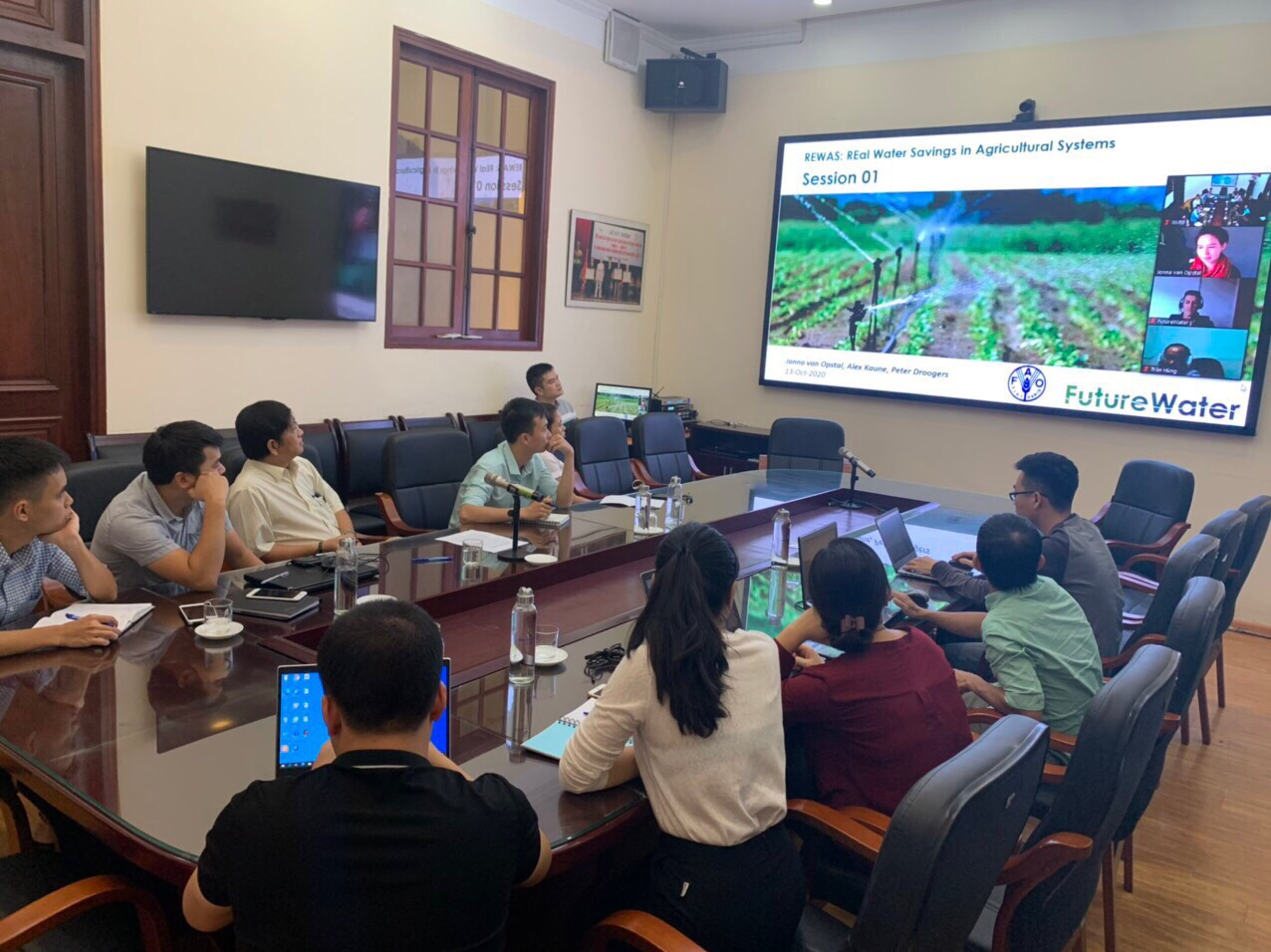 Training on Real Water Savings in Agricultural Systems (REWAS)