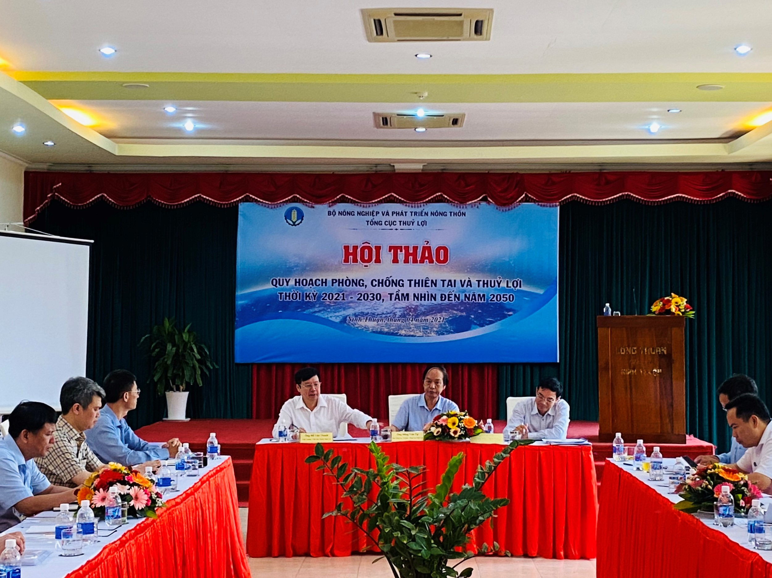Consultation workshop in the Central Region on the implemented contents of the Master Plan on Hydraulic Works and Natural Disaster Prevention and Control for period 2021-2030 and vision to 2050
