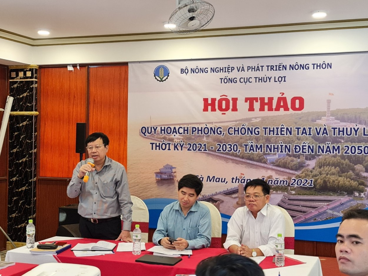 Consultation workshop in the Mekong Delta on the implemented contents of the Master Plan on Hydraulic Works and Natural Disaster Prevention and Control for period 2021-2030 and vision to 2050