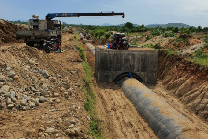 Vùng khô hạn nhất Ninh Thuận sắp hết 'khát'