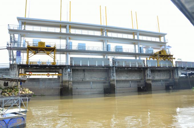 Vĩnh Long thành lập các trạm quản lý khai thác các công trình thủy lợi